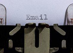emailタイピング
