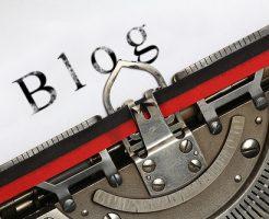 blogタイピング